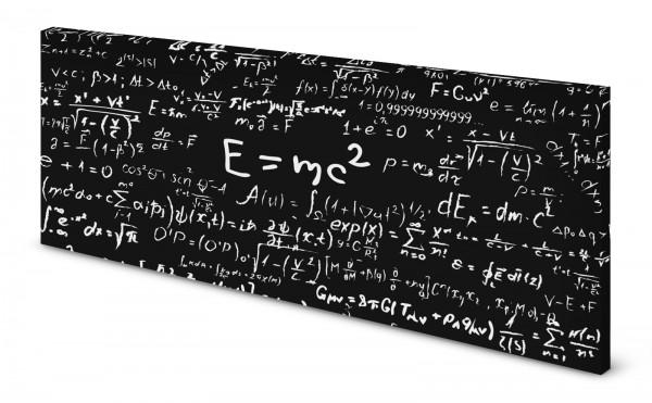 Magnettafel Pinnwand Bild Formel Relativitätstheorie gekantet