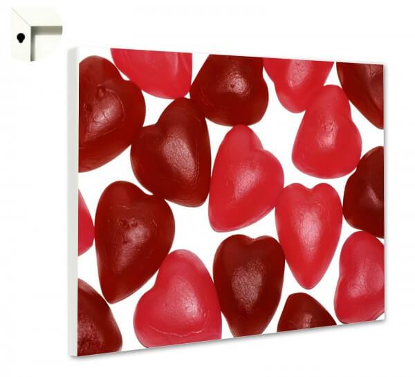 Magnettafel Pinnwand Küche Weingummi Herz