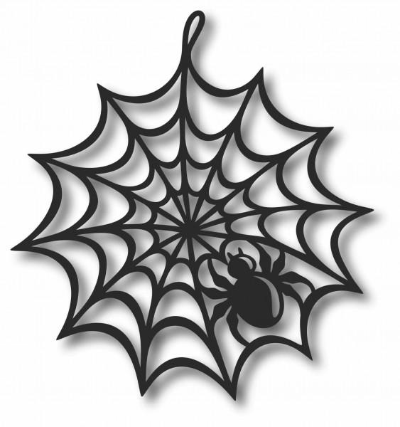 Bild Wandbild 3D Wandtattoo Acryl Mobile Spinne Spinnennetz Gothic