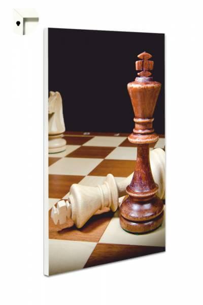Magnettafel Pinnwand Schach