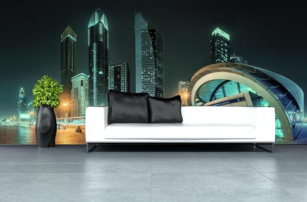 Vlies Tapete XXL Poster Fototapete Dubai Vereinigte Arabische Emirate