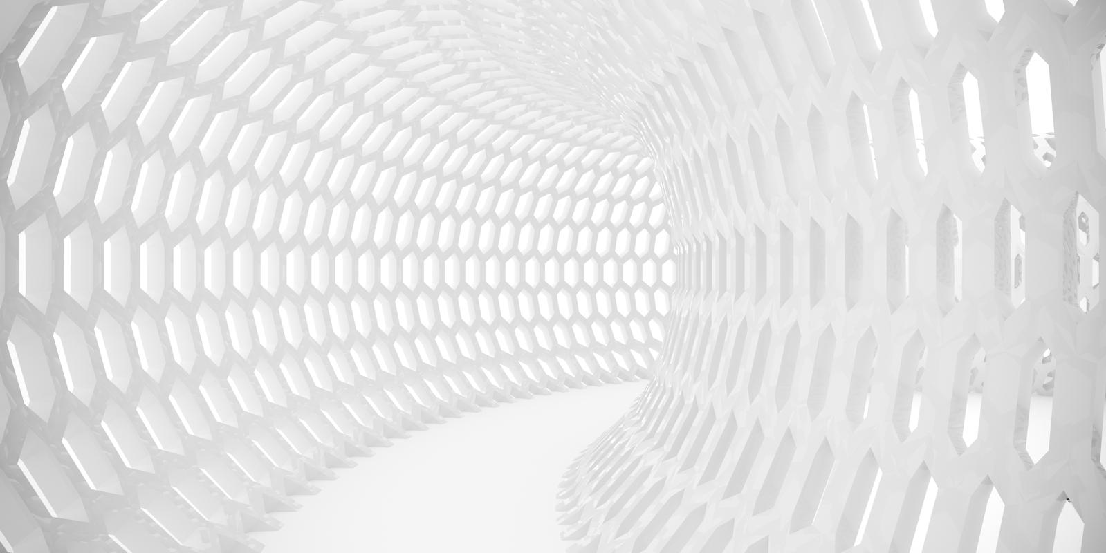 Vlies Tapete Xxl Poster Fototapete 3d Effekt Rohre Weiss Muster