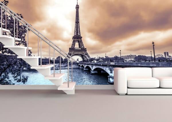 Vlies Tapete XXL Poster Fototapete Paris Frankreich