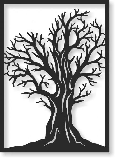 Bild Wandbild Wandtattoo Acryl Mobile Cut Out Baum Natur