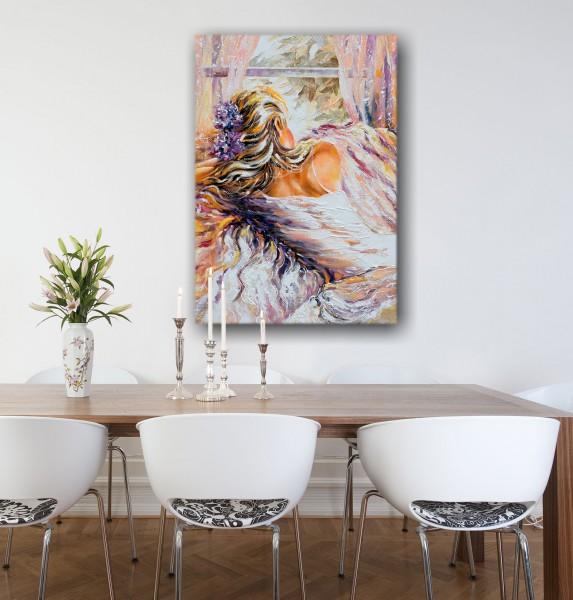 Leinwandbild Gemälde Tanja