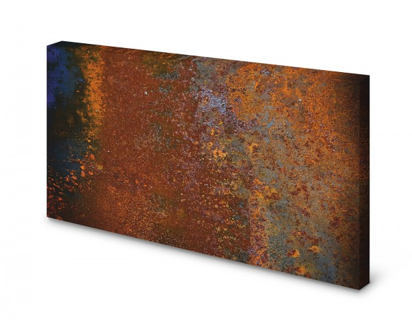Magnettafel Pinnwand Bild Rost alt Rostoptik rostig XXL gekantet