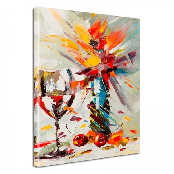 Leinwandbild Gemälde Stilles Wasser
