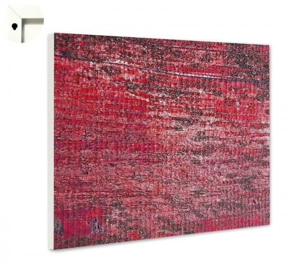 Magnettafel Pinnwand Muster Struktur rot