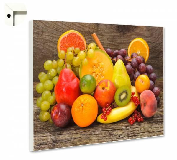 Magnettafel Pinnwand Küche sonnige Früchte