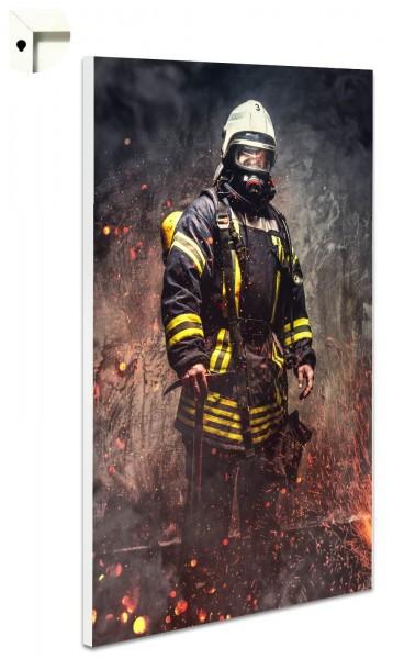 Magnettafel Pinnwand Feuerwehr Feuer
