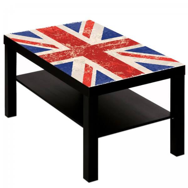 Couchtisch mit Motiv Union Jack England