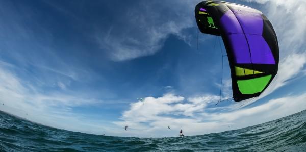Magnettafel Pinnwand Bild XXL Panorama Kitesurfen