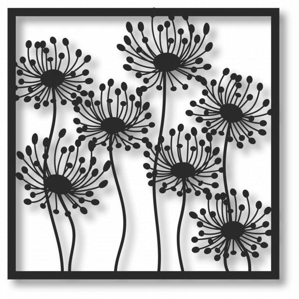 Bild Wandbild 3D Wandtattoo Acryl Mobile Blumenwiese Blumen Natur