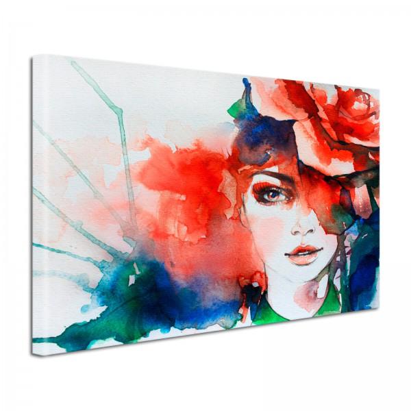 Leinwandbild Gemälde Beauty