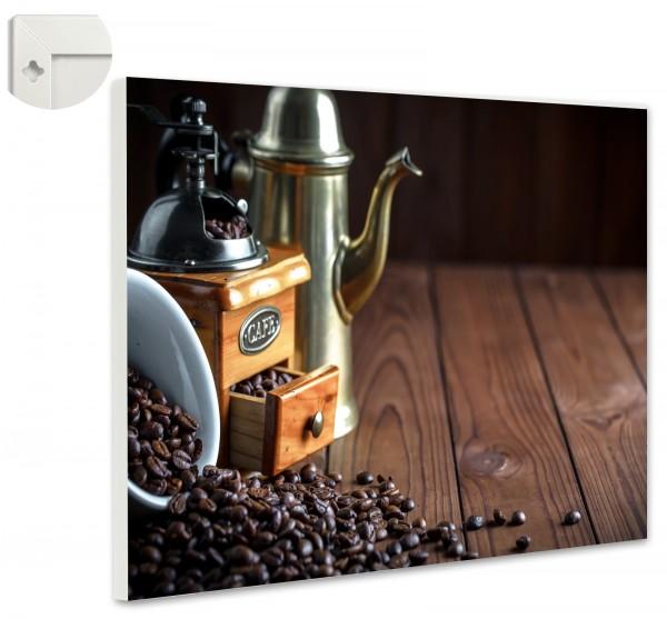 Magnettafel Pinnwand Magnetwand Kaffee Mühle Kanne