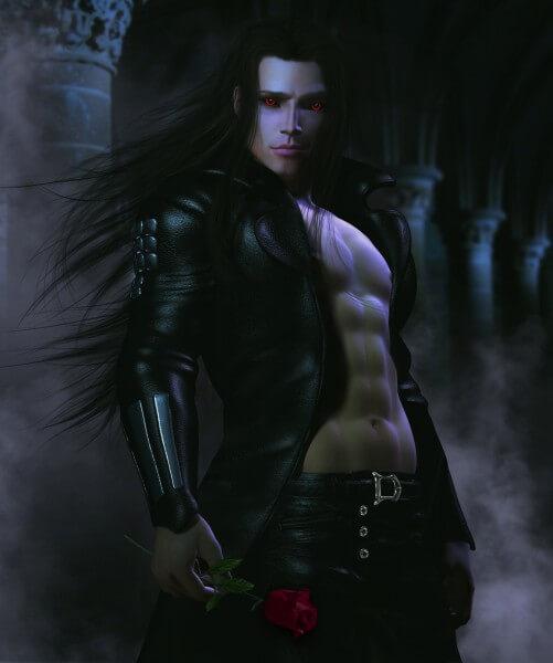 Poster Fototapete Fantasy Dunkler Lord