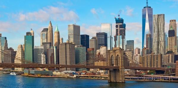 Magnettafel Pinnwand XXL Magnetbild New York