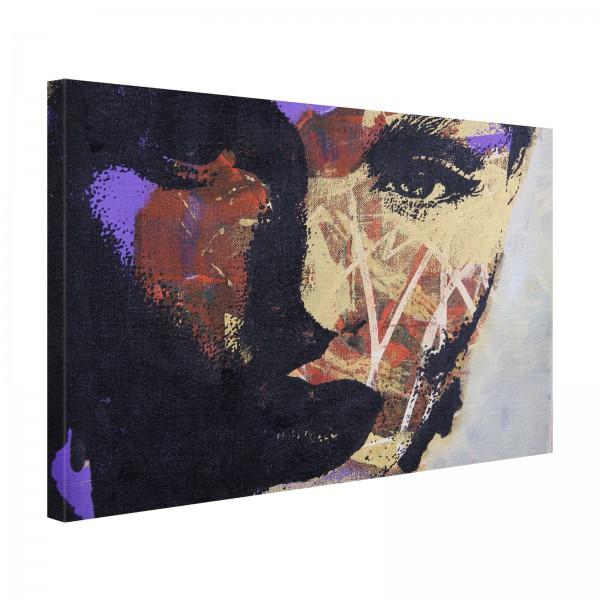 Leinwandbild Gemälde Romy