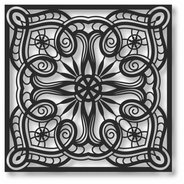 Bild Wandbild 3D Wandtattoo Acryl Mobile Muster orientalisch Abstrakt