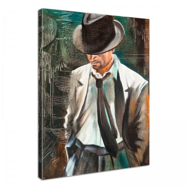Leinwandbild Gemälde Bogart