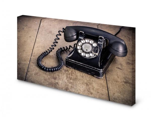 Magnettafel Pinnwand Bild Telefon Wahlscheibe Retro Antik gekantet