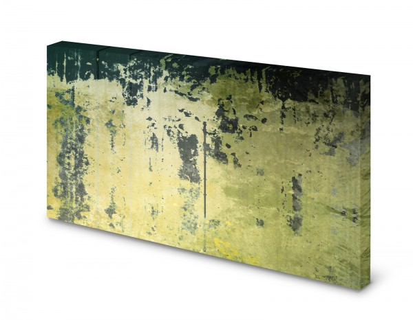 Magnettafel Pinnwand Bild Betonoptik Beton alt grün gekantet