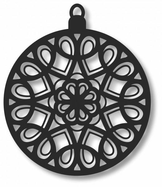 Bild Wandbild Kreisbild 3D Acryl Mobile Kugel Muster Cut-Out Abstrakt