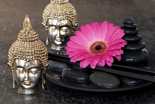 Magnettafel Pinnwand XXL Bild Buddha Zen