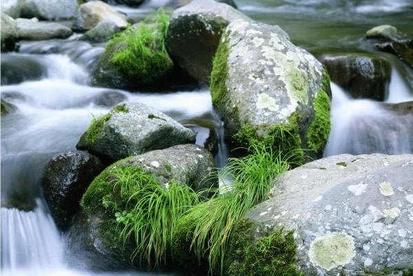 Magnettafel Pinnwand XXL Bild Alles im Fluss