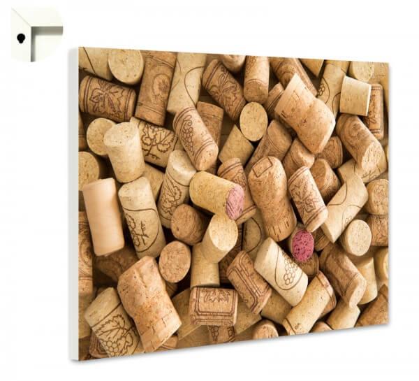 Magnettafel Pinnwand Küche Rotwein Korken 3