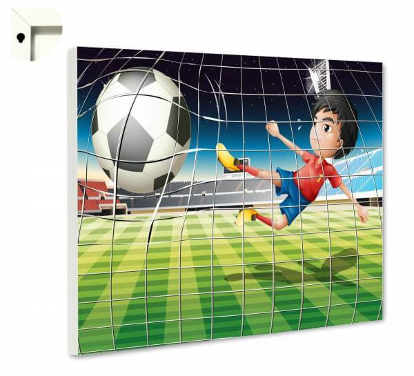 Magnettafel Pinnwand Kinder Fußball