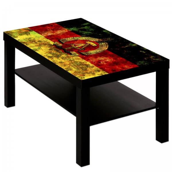 Couchtisch Tisch mit Motiv Bild DDR