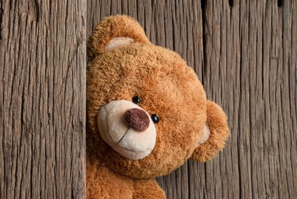 Magnettafel Pinnwand Magnetwand Teddy Bär Holz
