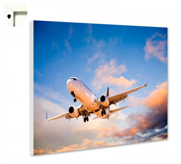 Magnettafel Pinnwand mit Motiv Flugzeug