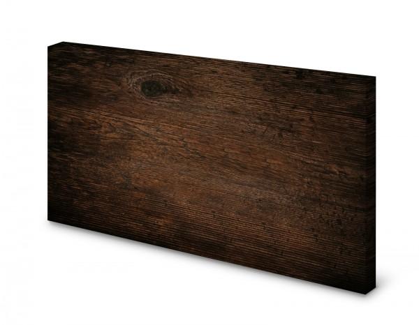 Magnettafel Pinnwand Bild Holz dunkel Holzoptik Holzmaserung gekantet