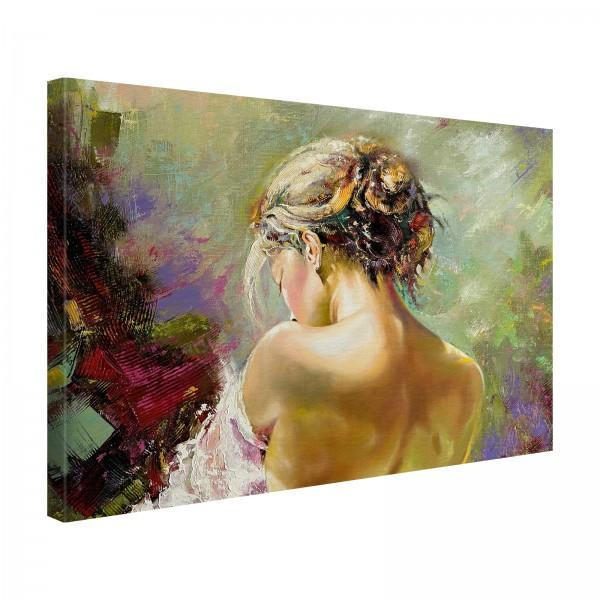 Leinwandbild Gemälde Anna