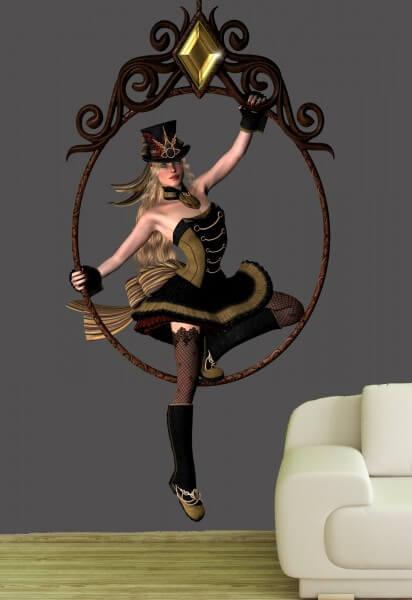 Poster Fototapete Fantasy Lady 8
