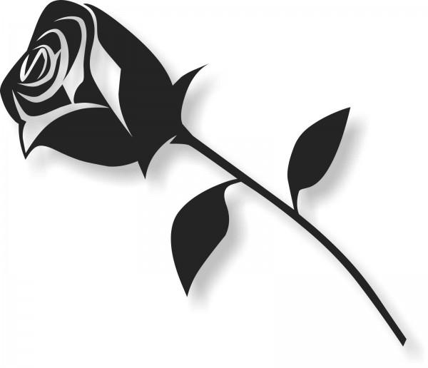 Bild Wandbild Wandtattoo Acryl Mobile Rose Blume