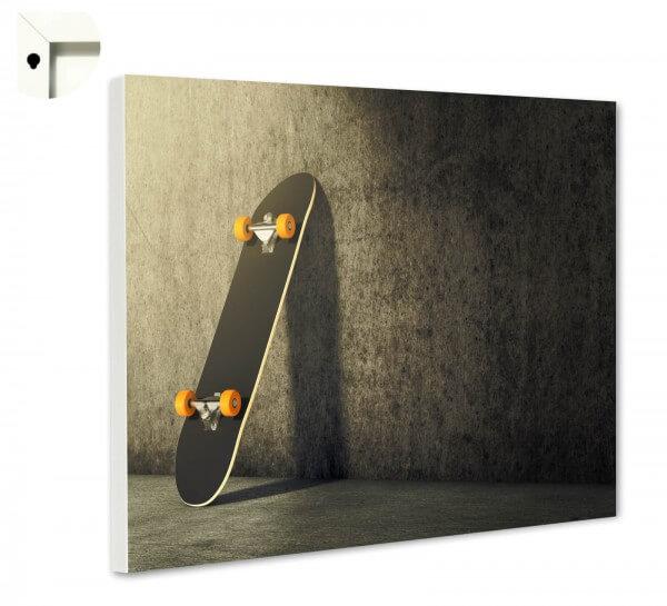 Magnettafel Pinnwand Skateboard Skater 2