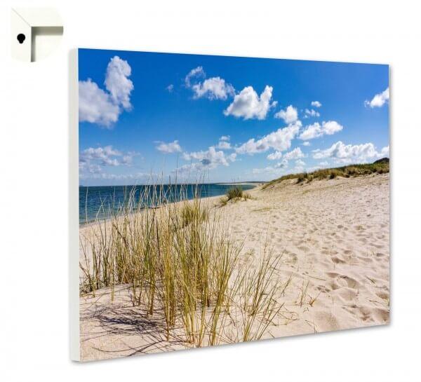 Magnettafel Pinnwand Natur Sylt Strand Sand Düne