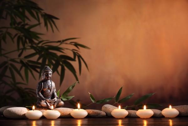 Magnettafel Pinnwand Magnetbild Buddha Zen