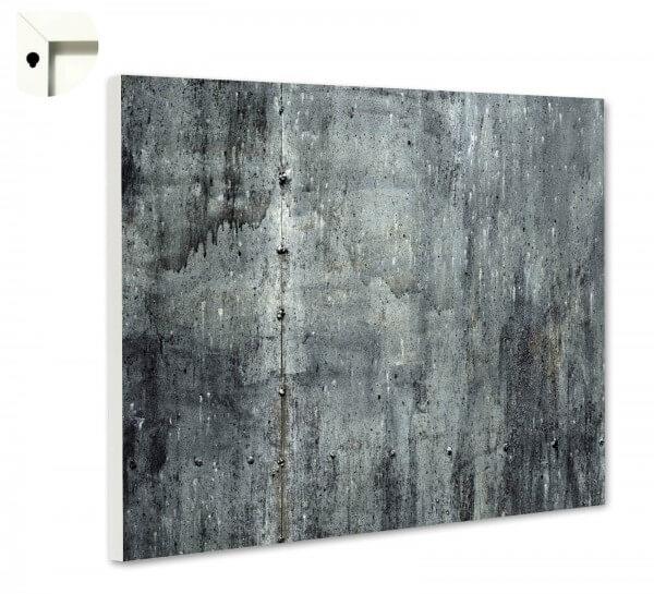 Magnettafel Pinnwand Muster Beton grau
