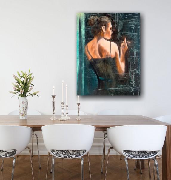 Leinwandbild Gemälde Madeleine