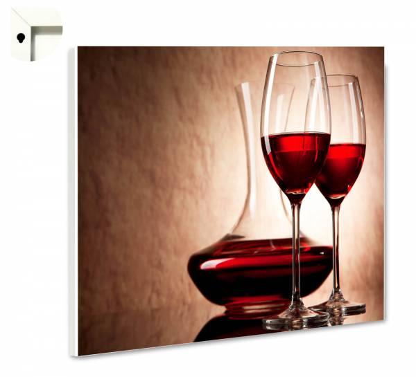 Magnettafel Pinnwand Bar & Restaurant Rotwein Decanter