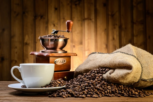 Magnettafel Pinnwand Bild XXL Kaffee Mühle Tasse
