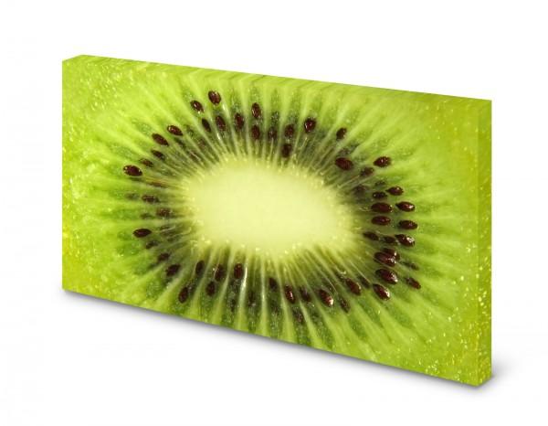 Magnettafel Pinnwand Bild Kiwi Obst grün XXL gekantet