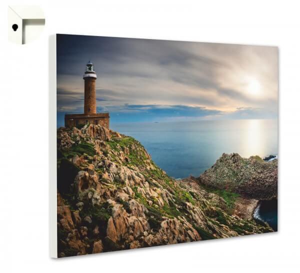Magnettafel Pinnwand Natur Leuchtturm Meer