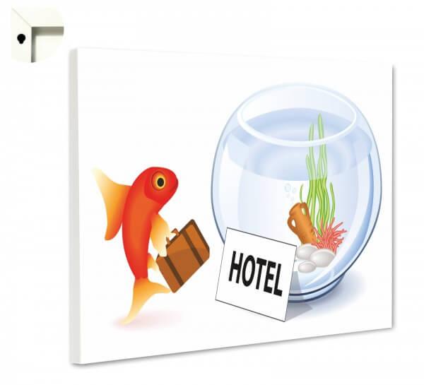 Magnettafel Pinnwand Memoboard Goldfisch Fisch