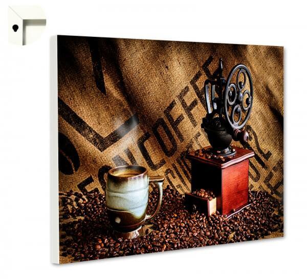 Magnettafel Pinnwand Küche Kaffee Sack & Bohnen