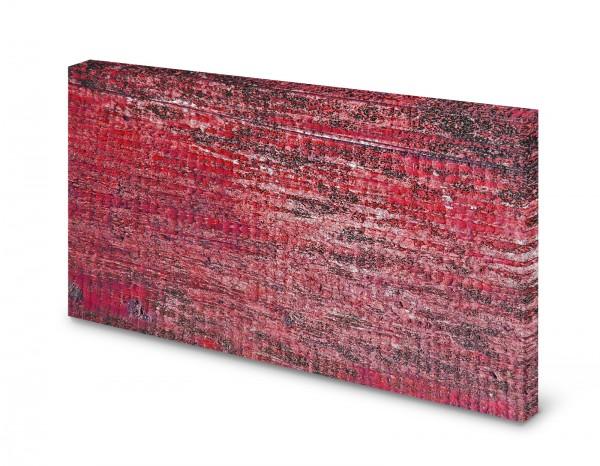 Magnettafel Pinnwand Bild Rot Muster Struktur Hintergrund gekantet